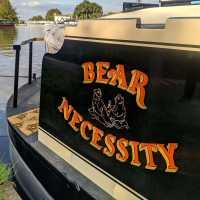 bear-necessity-boat-narrowboat-name-sign-handpainted-lettering-signwriting-signpainting