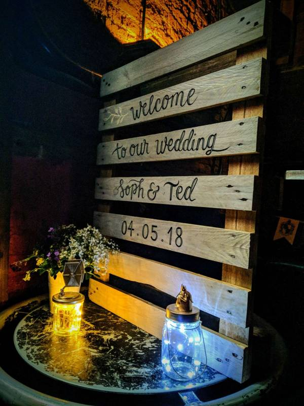 pallet-wedding-sign-custom-handpainted-bride-groom-rustic-barn-signwriting-personal