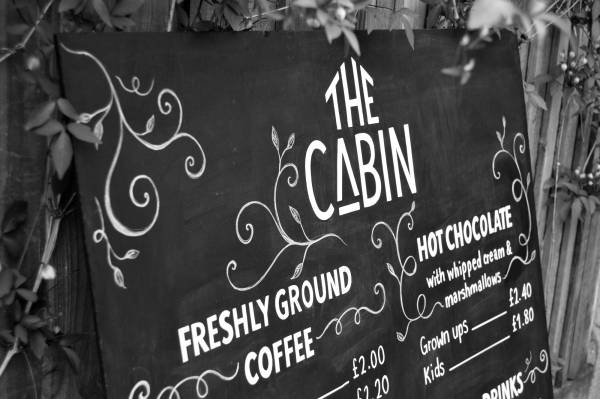 the-cabin-chalkboard-cafe-menu-blackboard-cirencester-park-coffee-logo-design-decorative-signpainting-signwriting-handlettering-type