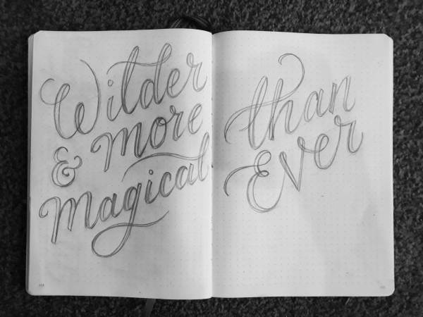 sketch-handdrawn-sketchbook-work-in-progress-lettering-handlettering-giffords-circus
