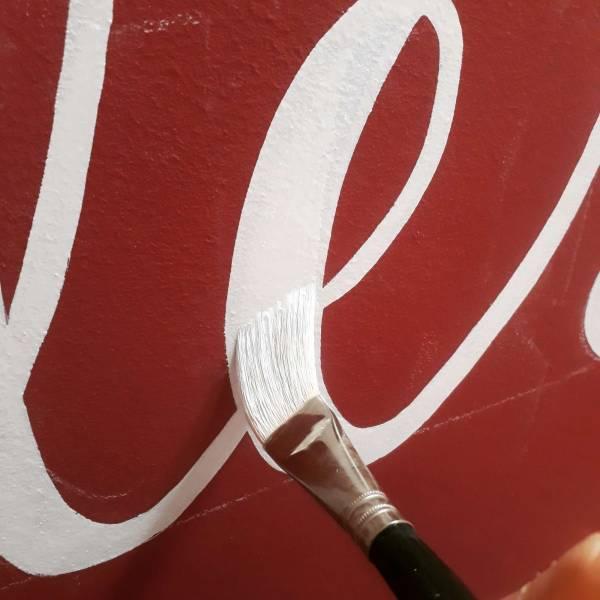 brush-stroke-wip-gloucester-signwriter-gloucester-quays-calligraphy-handlettering